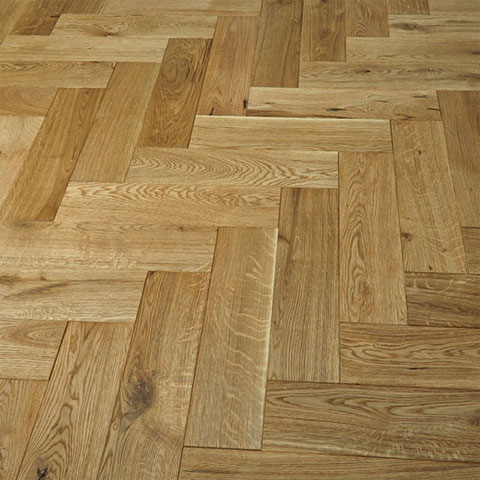 Solid Oak Oiled Parquet