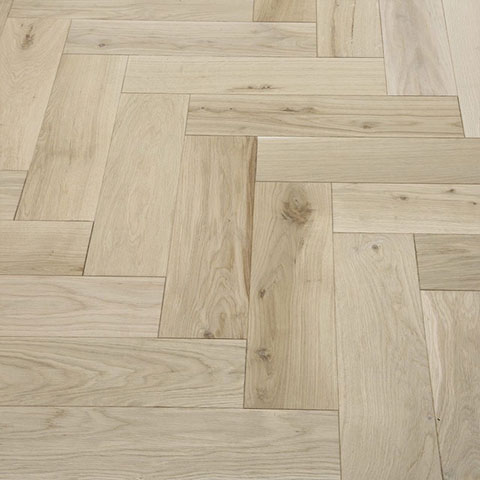 Solid Unfinished Oak Parquet